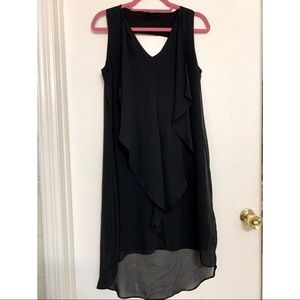 INC International Sleeveless High Low Dress